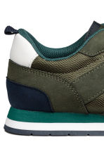 Mesh trainers - Khaki green - Kids | H&M 5