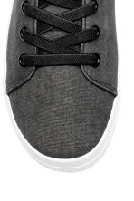 Hi-top trainers - Black washed out - Kids | H&M CN 3