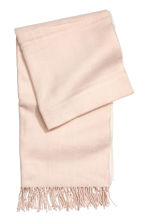 Woven scarf - Light powder pink - Ladies | H&M IE 2