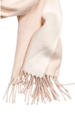 Woven scarf - Light powder pink - Ladies | H&M IE 3