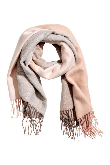 Large scarf - Pink - Ladies | H&M CN