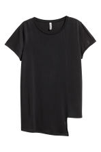 Asymmetric Top - Black - Ladies | H&M CA 2