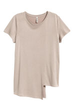 Asymmetric top - Mole - Ladies | H&M 2