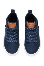 Hi-top trainers - Dark blue - Kids | H&M CA 2