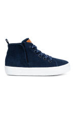 Hi-top trainers - Dark blue - Kids | H&M CA 1