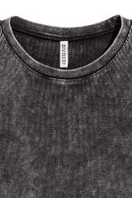 Top with zips - Dark grey - Ladies | H&M 3