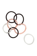 7-pack hair elastics - Black - Ladies | H&M 1