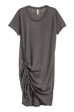 Abito in jersey con coulisse - Grigio scuro - DONNA | H&M IT 2