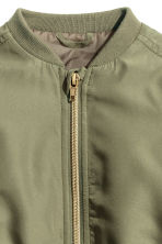 Padded bomber jacket - Khaki green - Kids | H&M CN 2
