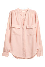 Crêpe blouse - Powder pink - Ladies | H&M CA 2