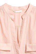 Crêpe blouse - Powder pink - Ladies | H&M CA 3