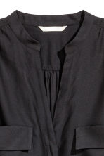Crêpe blouse - Black - Ladies | H&M CN 3