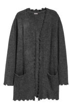 Knit Cardigan - Dark gray - Men | H&M CA 2