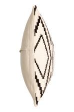 Jacquard-weave cushion cover - Natural white - Home All | H&M CN 2