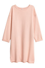 Sweatshirt dress - Powder pink - Ladies | H&M GB 2