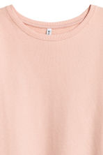 Sweatshirt dress - Powder pink - Ladies | H&M GB 3