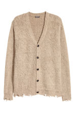 Knitted cardigan - Beige - Men | H&M 2