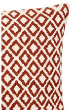 Jacquard-weave cushion cover - White/Orange - Home All | H&M IE 4