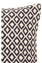 Copricuscino jacquard - Bianco/antracite - HOME | H&M IT 3