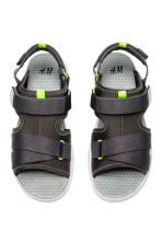 Scuba sandals - Dark grey -  | H&M 2