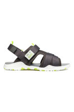 Scuba sandals - Dark grey -  | H&M 1