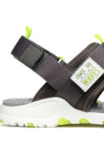 Scuba sandals - Dark grey -  | H&M 4
