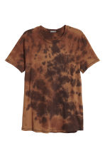 Batik-patterned T-shirt - Brown/Batik - Men | H&M 2