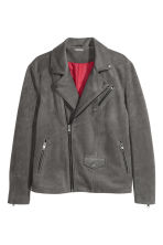 Biker jacket - Grey - Men | H&M 2