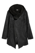Pile-lined jacket - Black - Men | H&M GB 2