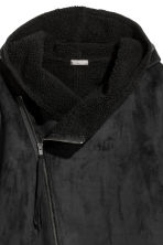 Pile-lined jacket - Black - Men | H&M GB 3