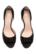 Peep-toe court shoes - Black - Ladies | H&M 2