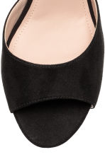 Peep-toe court shoes - Black - Ladies | H&M 3