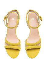Sandals - Yellow - Ladies | H&M 2