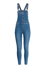 Salopette in denim - Blu denim - DONNA | H&M IT 2