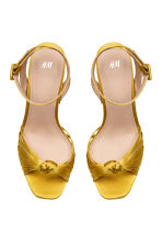 Platform sandals - Yellow - Ladies | H&M CN 2