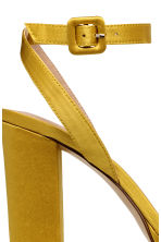 Platform sandals - Yellow - Ladies | H&M CN 4