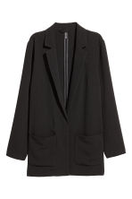 Crêpe jacket - Black - Ladies | H&M CN 2