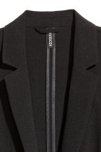 Crêpe jacket - Black - Ladies | H&M CN 3