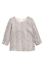 Lot de 2 tops - Gris/chat -  | H&M FR 2