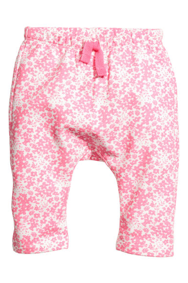 Patterned sweatpants - Pink - Kids | H&M 1