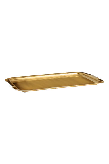 Metal Tray - Gold - Home All | H&M CA 1