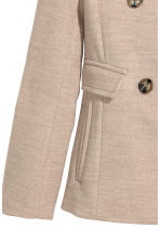 Pea coat - Beige - Ladies | H&M CN 3