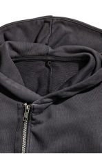 Hooded jacket - Black -  | H&M CN 3