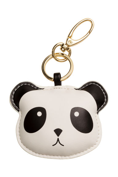 Keyring - White/Panda - Ladies | H&M 1