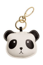 Keyring - White/Panda - Ladies | H&M CN 1