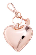 Keyring - Rose gold-coloured/Heart - Ladies | H&M 1