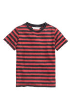 T-shirt - Red/Striped -  | H&M CN 2