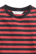T-shirt - Red/Striped -  | H&M CN 3