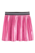 Shimmering metallic skirt - Cerise - Kids | H&M 2