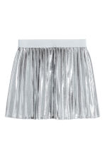 Shimmering metallic skirt - Silver - Kids | H&M 2